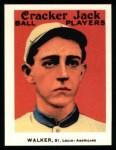 1915 Cracker Jack Reprint #173  Ed Tilly Dixie Walker  Front Thumbnail