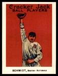 1915 Cracker Jack Reprint #127  Butch Schmidt  Front Thumbnail