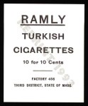 1909 T204 Ramly Reprint #45  George Ferguson  Back Thumbnail