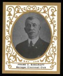 1909 T204 Ramly Reprints #7  Frank Bancroft  Front Thumbnail