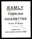 1909 T204 Ramly Reprint #24  Charles Chech  Back Thumbnail