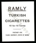 1909 T204 Ramly Reprint #88  Simon Nichols  Back Thumbnail