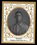 1909 T204 Ramly Reprint #63  Ed Kargar  Front Thumbnail