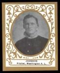 1909 T204 Ramly Reprint #60  Walter Johnson  Front Thumbnail