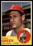 1963 Topps #91  Dallas Green  Front Thumbnail
