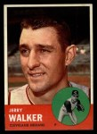 1963 Topps #413 RED Jerry Walker  Front Thumbnail