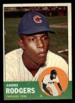 1963 Topps #193  Andre Rodgers  Front Thumbnail