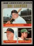 1970 O-Pee-Chee #64   -  Reggie Jackson / Harmon Killebrew / Boog Powell AL RBI Leaders Front Thumbnail