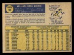 1970 O-Pee-Chee #98  Gates Brown  Back Thumbnail