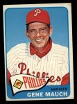 1965 Topps #489  Gene Mauch  Front Thumbnail