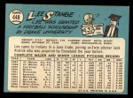 1965 Topps #448  Lee Strange  Back Thumbnail