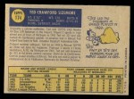 1970 O-Pee-Chee #174  Ted Sizemore  Back Thumbnail