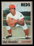 1970 O-Pee-Chee #507  Pat Corrales  Front Thumbnail