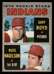 1970 O-Pee-Chee #7   -  Gary Boyd / Russ Nagelson Indians Rookies Front Thumbnail