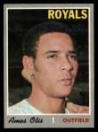 1970 O-Pee-Chee #354  Amos Otis  Front Thumbnail