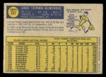 1970 O-Pee-Chee #247  Lou Klimchock  Back Thumbnail