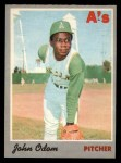 1970 O-Pee-Chee #55  Blue Moon Odom  Front Thumbnail