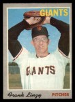 1970 O-Pee-Chee #77  Frank Linzy  Front Thumbnail