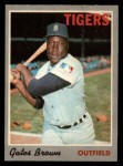 1970 O-Pee-Chee #98  Gates Brown  Front Thumbnail
