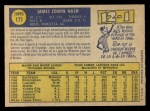 1970 O-Pee-Chee #171  Jim Nash  Back Thumbnail