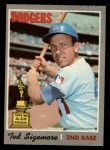 1970 O-Pee-Chee #174  Ted Sizemore  Front Thumbnail