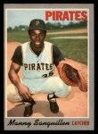 1970 O-Pee-Chee #188  Manny Sanguillen  Front Thumbnail