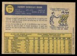 1970 O-Pee-Chee #234  Tommy Dean  Back Thumbnail