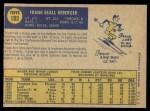 1970 O-Pee-Chee #103  Frank Reberger  Back Thumbnail