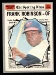 1970 O-Pee-Chee #463   -  Frank Robinson All-Star Front Thumbnail