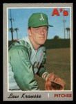 1970 O-Pee-Chee #233  Lew Krausse  Front Thumbnail