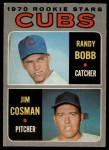 1970 O-Pee-Chee #429   -  Randy Bobb / Jim Cosman Cubs Rookies Front Thumbnail