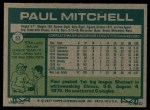 1977 Topps #53  Paul Mitchell  Back Thumbnail
