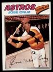 1977 Topps #42  Jose Cruz  Front Thumbnail