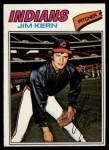 1977 Topps #41  Jim Kern  Front Thumbnail