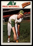 1977 Topps #53  Paul Mitchell  Front Thumbnail