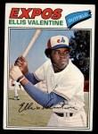 1977 Topps #52  Ellis Valentine  Front Thumbnail