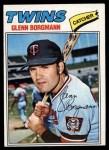 1977 Topps #87  Glenn Borgmann  Front Thumbnail
