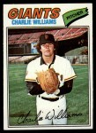 1977 Topps #73  Charlie Williams  Front Thumbnail