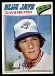 1977 Topps #163  Dave Hilton  Front Thumbnail