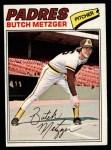 1977 Topps #215  Butch Metzger  Front Thumbnail