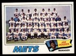 1977 Topps #259   -  Joe Frazier  Mets Team Checklist Front Thumbnail