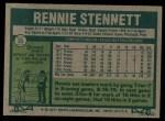 1977 Topps #35  Rennie Stennett  Back Thumbnail