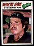 1977 Topps #17  Steve Stone  Front Thumbnail