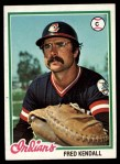 1978 Topps #426  Fred Kendall  Front Thumbnail