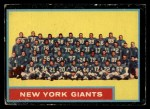 1962 Topps #114   Giants Team Front Thumbnail