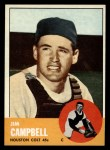 1963 Topps #373  Jim Campbell  Front Thumbnail