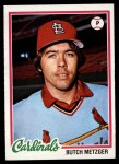 1978 Topps #431  Butch Metzger  Front Thumbnail
