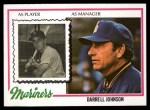 1978 Topps #79  Darrell Johnson  Front Thumbnail