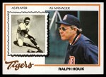 1978 Topps #684  Ralph Houk  Front Thumbnail