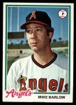1978 Topps #429  Mike Barlow  Front Thumbnail